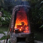 heating up for the temazcal