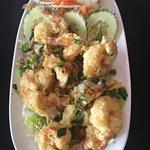 Salt & Pepper Shrimp are the best for sharing