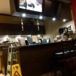 Bombay Joes bar area - Muted TV