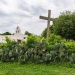 Cactus Garden, Cross & Church