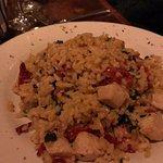 Friend's chicken rissoto. Always love Rissoto!