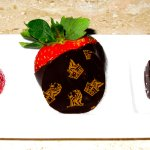 Ritz Carlton - Dove Mountain - Third Floor King room - Chocolate-covered strawberries