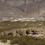 you can see the town of Boquillas del Carmen across the river in Mexico from the overlook