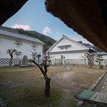 old buildings, kuniyasunosato, yoshida, uwajima, ehime, shikoku, japan