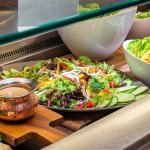 Lunch and Dinner: Fresh salads