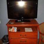 Large flat screen TV in the room!