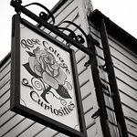 Black and white photograph of Rose Street Cottage of Curiosities, Sheerness, Kent by Anthony Jon