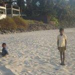 Clean Beach of Kashid- 10 minutes walk