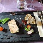 un excellent foie gras
