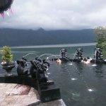 Toya Devasya hot spring from batur volcano bali