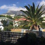 Uitzicht op de Tafelberg vanuit kamer C3