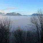 Misty Morning over the Fraser River
