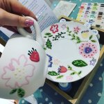 Had so much fun! Came to Holt for our anniversary and went to doodle pots! Really lovely and fri