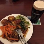 Good food in the restaurant. Guinness fresh and excellent.