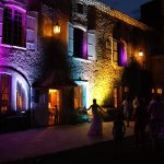Terrasse du Château , devenu dancing lors d'un mariage