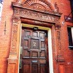 Front door at 2 Mecklenburg Street.
