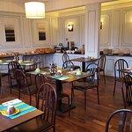 Salle petit-déjeuner clients individuels