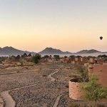 Hot Air Ballooning over Kulala Desert Lodge