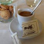 un ottimo caffè con biscottini fine pasto