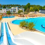 espace piscine du Village Vacances