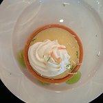 Banquet dinner dessert, key lime