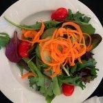 Banquet dinner salad