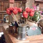 detalle de rosas de frutillas para el día de los enamorados!!!