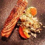 Lunch Menu Starter, Salmon - Dill, Buttermilk, Avocado