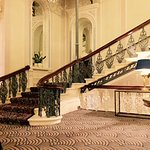 The Grand Sweeping Staircase.....