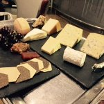 Selection of Sussex cheeses to choose from - a perfect finish....