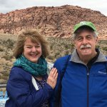 New Jersey's Maureen and Jim at Red Rock. Just gorgeous!