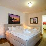 Deluxe Zimmer - Apartment 80qm mit Terrasse (Schlafbereich-Abbildung)