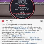 AGAVE Taco Bar was awarded BEST BITES on the Beach in the SOBE WFF!