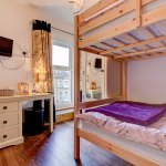 "Room 10 - Standard Family Suite - 1 x 4ft 6"" bed and 4ft bunk beds in adjoining room - sleeps 4"