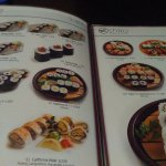Carta de sushi