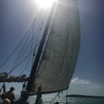 Great day of snorkeling, kayaking, and sailing with Jason, Mike, and Amanda today!  They were aw