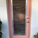Front Wood Door with no Deadbolt Function
