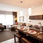 2 Bedroom Suite: Living Area