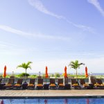 "The Ocean Club Hotel has been rated ""Best Pool Scene"" by SJ Magazine"