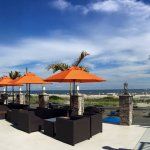 Soak in the sun on the Ocean Club Hotel's spacious sundeck - overlooking Cape May's famed beach