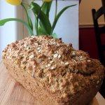 Our homebaked bread with stoneground flour and seeds