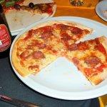 Pizza al salamino piccante