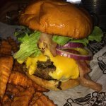 Burgers at Wild Bill's are awesome!!