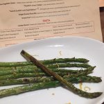 $8 for 7 skinny overcooked spears...