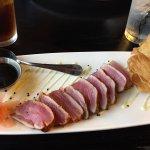 Asian ahi tuna appetizer