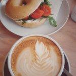 Cappuccino & Bagel