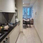 galley kitchen (2 bdrm apt)