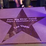 "Pete ""Big Elvis"" Vallee is added to the Walk of Stars"