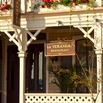 The Hotel Alcott's La Verandah Restaurant is a favorite with those in the know.