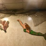 Cute mermaid bathroom!